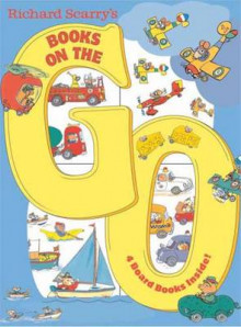 Richard Scarry's Books on the Go av Richard Scarry (Pappbok)