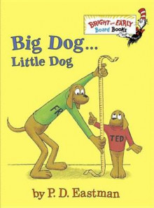 BandE Board Bk: Big Dog...Little Dog av P D Eastman (Pappbok)