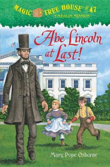 Abe Lincoln at Last! av Mary Pope Osborne (Innbundet)