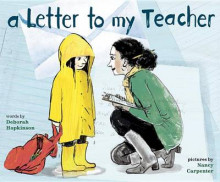 A Letter to My Teacher av Deborah Hopkinson (Innbundet)