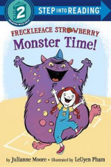 Omslag - Freckleface Strawberry: Monster Time!