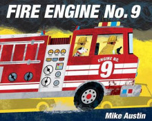 Fire Engine No. 9 av Mike Austin (Innbundet)