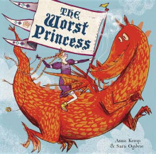The Worst Princess av Anna Kemp (Innbundet)