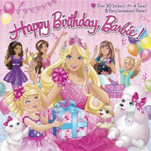Happy Birthday, Barbie! av Mary Man-Kong (Blandet mediaprodukt)