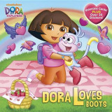 Omslag - Dora Loves Boots