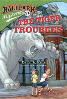 Ballpark Mysteries #11: The Tiger Troubles av David A Kelly (Innbundet)
