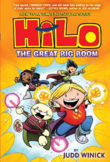 Hilo Book 3: The Great Big Boom av Judd Winick (Innbundet)