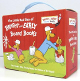 Omslag - The Little Red Box of Bright and Early Board Books