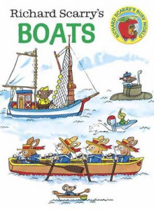 Richard Scarry's Boats av Richard Scarry og Richard Scarry (Pappbok)