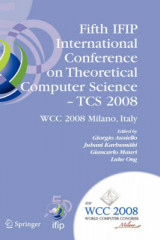 Omslag - Fifth IFIP International Conference on Theoretical Computer Science - TCS 2008