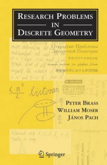 Research Problems in Discrete Geometry av Peter Brab, W. O. J. Moser og Janos Pach (Innbundet)