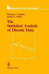 The Statistical Analysis of Discrete Data av Diane E. Duffy og Thomas J. Santner (Innbundet)