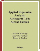 Applied Regression Analysis av David A. Dickey, Sastry G. Pantula og John O. Rawlings (Innbundet)