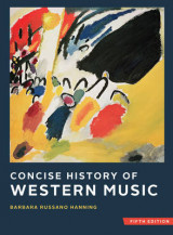 Omslag - Concise History of Western Music