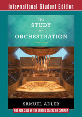 Omslag - The Study of Orchestration