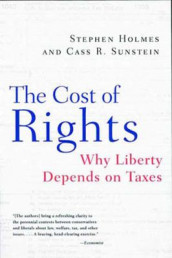 The Cost of Rights av Stephen Holmes og Cass R. Sunstein (Heftet)