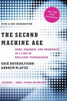 The Second Machine Age av Erik Brynjolfsson og Andrew McAfee (Heftet)