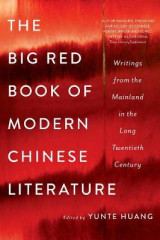 Omslag - The Big Red Book of Modern Chinese Literature