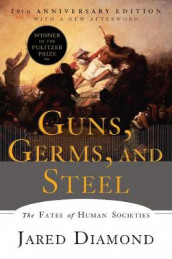 Guns, Germs, and Steel av Jared Diamond (Heftet)