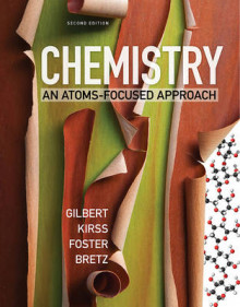 Chemistry an Atoms-focused Approach 2W with Ebook and Smartworks av Gilbert (Heftet)