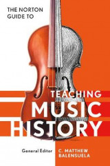 Omslag - Norton Guide to Teaching Music History