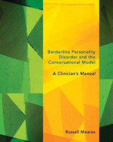 Omslag - Borderline Personality Disorder and the Conversational Model