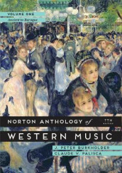 Omslag - The Norton Anthology of Western Music: Volume 1