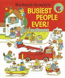 Richard Scarry's Busiest People Ever! av Richard Scarry (Innbundet)