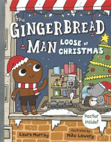 Omslag - The Gingerbread Man Loose at Christmas