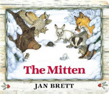 The Mitten av Jan Brett (Pappbok)