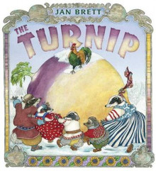 The Turnip av Jan Brett (Innbundet)