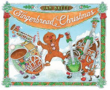 Gingerbread Christmas av Jan Brett (Innbundet)
