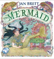 The Mermaid av Jan Brett (Innbundet)