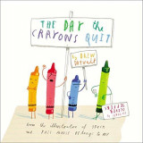 Omslag - The day the crayons quit