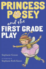 Omslag - Princess Posey and the First Grade Play