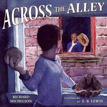 Across the Alley av Richard Michelson (Innbundet)