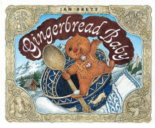 Gingerbread Baby Board Book av Jan Brett (Innbundet)