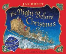 The Night Before Christmas av Jan Brett og Clement Clarke Moore (Blandet mediaprodukt)