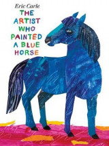 Omslag - The artist who painted a blue horse