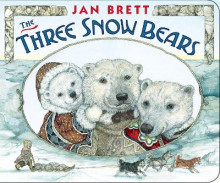 The Three Snow Bears av Jan Brett (Pappbok)