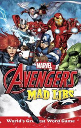 Omslag - Marvel's Avengers Mad Libs