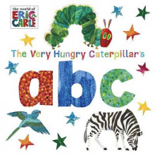 The Very Hungry Caterpillar's ABC av Eric Carle (Pappbok)