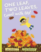 Omslag - One Leaf, Two Leaves, Count with Me!