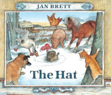 The Hat av Jan Brett (Pappbok)