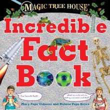 Magic Tree House Incredible Fact Book av Mary Pope Osborne og Natalie Pope Boyce (Innbundet)
