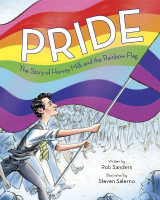 Omslag - Pride The Story Of Harvey Milk And The Rainbow Flag