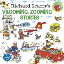 Richard Scarry's Vrooming, Zooming Stories av Richard Scarry (Heftet)
