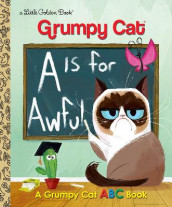 LGB Grumpy Cat A Is for Awful av Golden Books (Innbundet)
