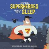 Omslag - Even Superheroes Have to Sleep