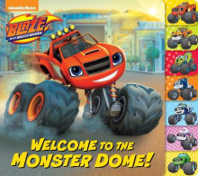 Welcome to the Monster Dome! (Blaze and the Monster Machines) av Frank Berrios (Pappbok)